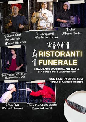 4 ristoranti e 1 funerale