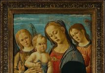 Madonna col Bambino, san Giovannino e due angeli