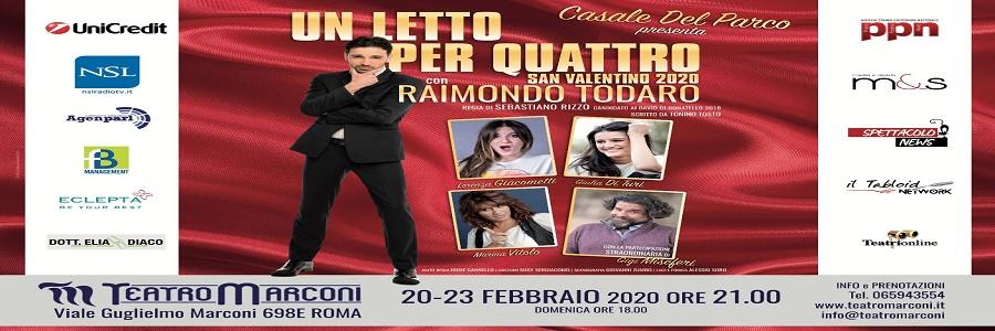 Dal 20 al 23 febbraio, ore 21, al Teatro Marconi di Roma