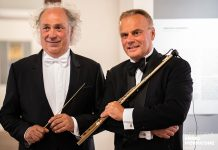 Il Maestro Diego Basso con Maestro Andrea Griminelli