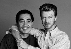 Bowie con Sukita