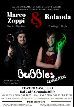 Bubbles revolution