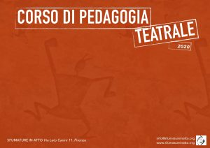 Corso di Pedagogia Teatrale