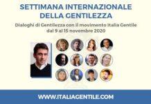 Dal 9 al 15 novembre sul sito web di Italia Gentile