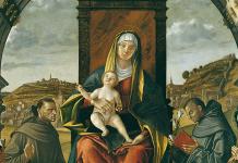 Vittore Carpaccio, Madonna in trono con bambino e santi