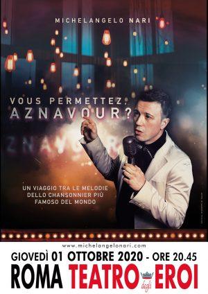 Vous permettez, Aznavour?