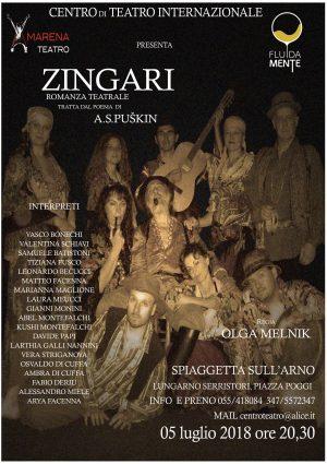 Spettacolo Zingari