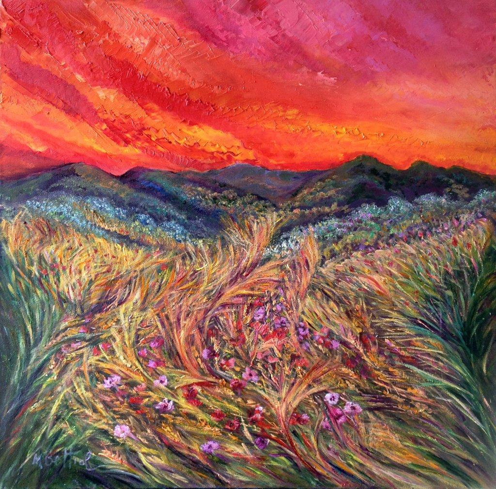 Massimliana Bettiol, Fermento di vita, olio su tela 60x66 2012
