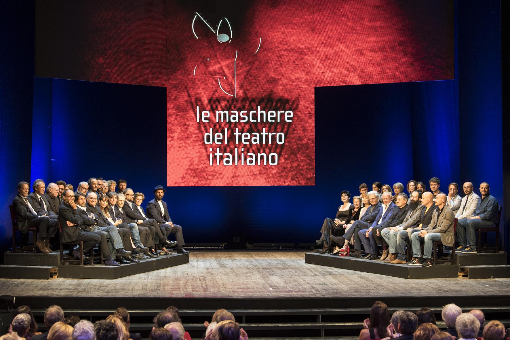 Ufficio Stampa Teatro Nuovo : Premio le maschere del teatro italiano 2018 teatrionline