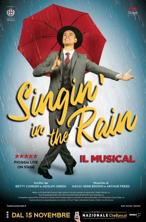 Singin' In The Rain – Cantando Sotto La Pioggia Il Musical
