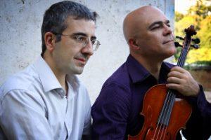 Luca Sanzò e Maurizio Paciariello