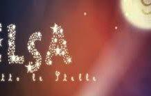 Elsa sotto le stelle