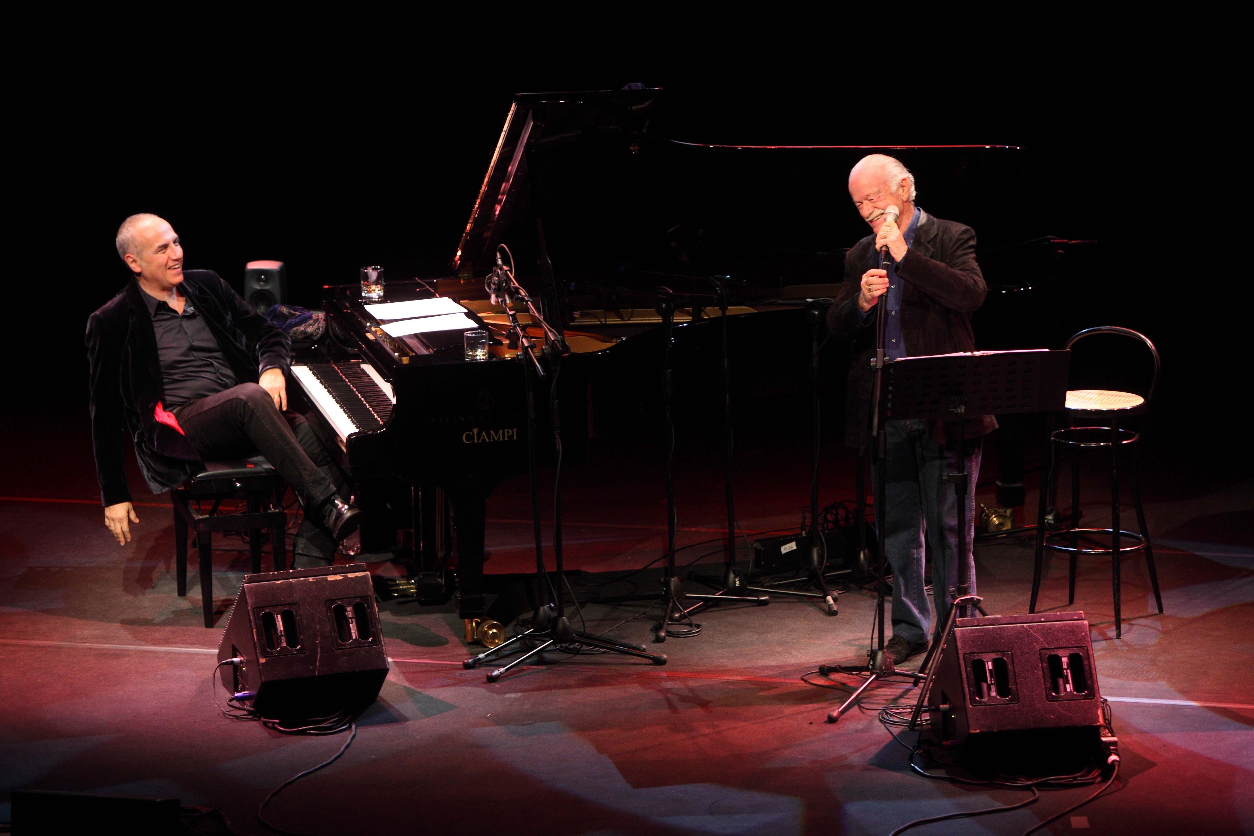 Gino Paoli e Danilo Rea inaugurano i concerti al Teatro Cristallo