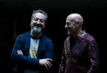 Cesare Picco e Alessio Bertallot