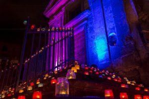 La notte delle candele di Vallerano